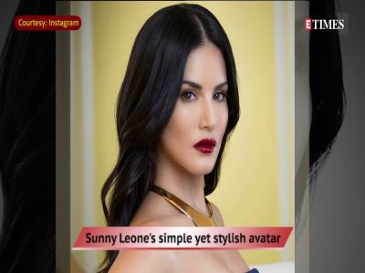 Sunny Leone's simple yet stylish avatar
