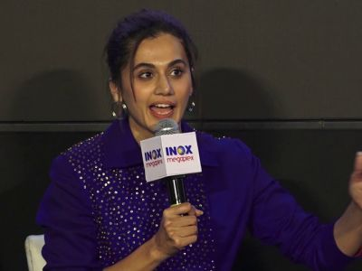Taapsee Pannu, Dia Mirza and Other Star Cast At The Special Screening Of Film 'THAPPAD'