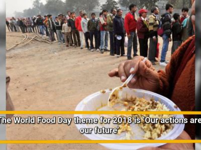Take a pledge to adopt a more sustainable lifestyle this World Food Day