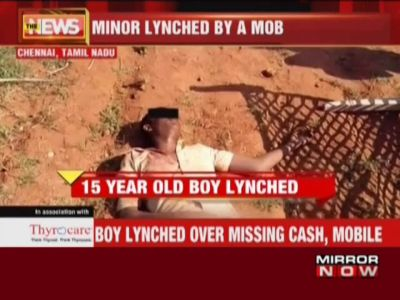 Tamil Nadu: 15-year-old boy allegedly lynched for stealing mobile phone