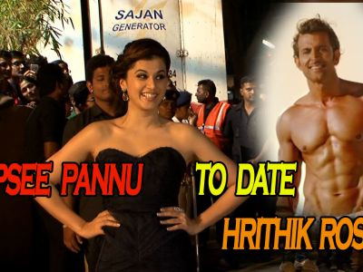 Tapsee Pannu to date Hrithik Roshan on Valentine's Day