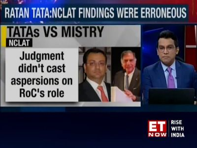 Tata vs Mistry case: Ratan Tata moves SC against NCLAT order