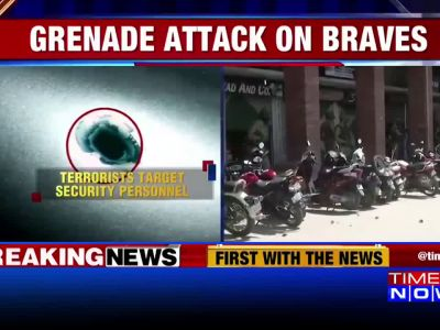 Terrorists hurl grenade at army camp in J&K's Kulgam
