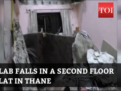 Thane: Woman dies after slab falls in a flat