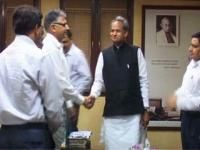 Timely promotions boost morale of officers: Gehlot