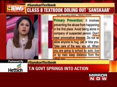 TN: Row over morality lessons in school books, minister promises review