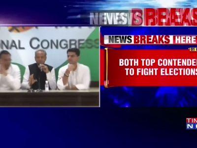Top Rajasthan Congress leader Ashok Gehlot and state Congress Chief Sachin Pilot to contest Vidhan Sabha polls