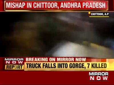 Truck falls into gorge in Chittoor, 7 killed
