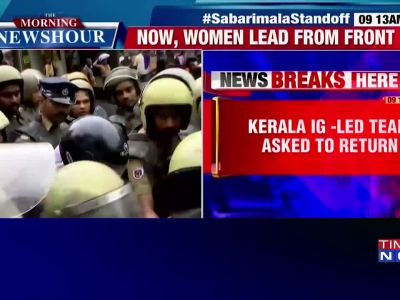 Two women reach Sabarimala temple with police protection, denied entry