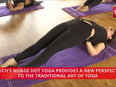 Unique 'hot yoga' takes over Mumbai