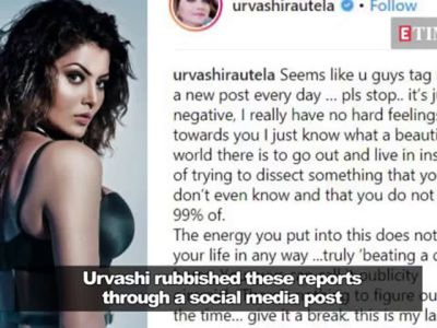 Urvashi Rautela trolled for 'plagiarising' Gigi Hadid's post slamming the media