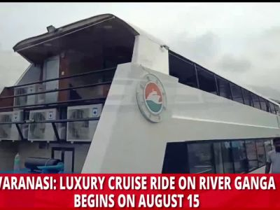 Varanasi: Enjoy riverside view of India's spiritual capital aboard luxury cruise vessel 'Alaknanda'