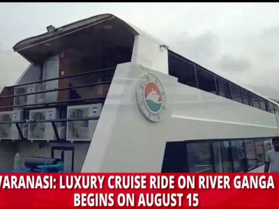 Varanasi: Enjoy riverside view of India's spiritual capital aboard luxury cruise vessel 'Alaknanda'