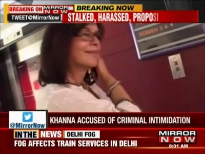 Veteran actress Zeenat Aman files stalking complaint against her biz partner