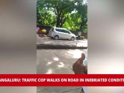 Video of inebriated traffic cop in Mangaluru goes viral