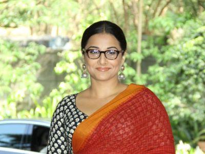 Vidya Balan at Whistling Woods International