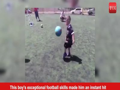 Viral video: This boy's exceptional football skills made him an instant hit