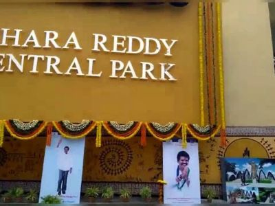 Visakhapatnam: YSR Congress-TDP spar after Jagan names city central park after his father