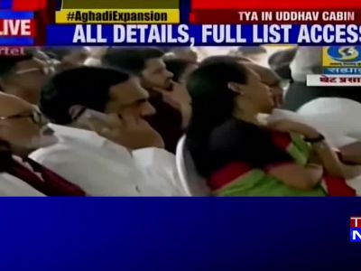 Watch: Ajit Pawar takes oath as Maharashtra Deputy CM