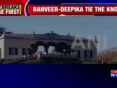 Watch: First visuals of Ranveer-Deepika's wedding venue