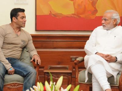Watch: How PM Narendra Mod praises Salman Khan