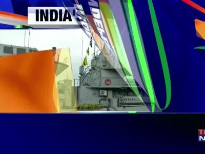 Watch: Kochi Naval Base dressed up for India's 72nd Independence Day