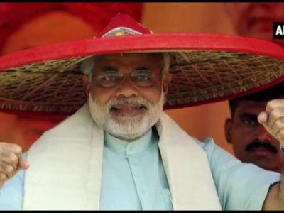 Watch: Prime Minister Narendra Modi's different headgears