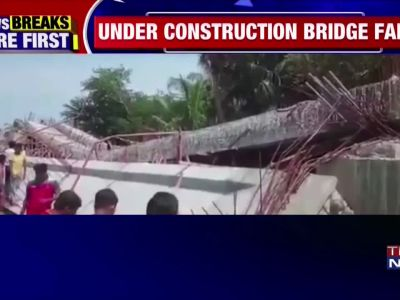 West Bengal: Under construction bridge collapses