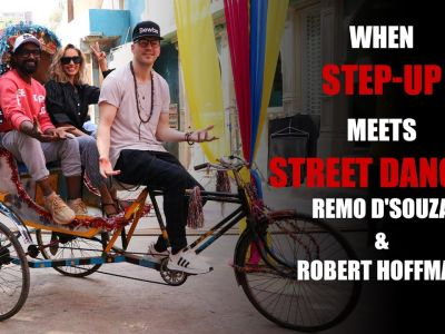 When Step Up actor and dancer Robert Hoffman Meet Remo D'souza On The Sets Of A Song Shoot