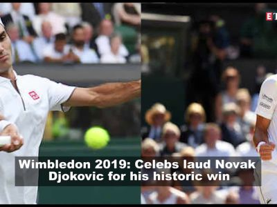 Wimbledon 2019: Celebs praise Novak Djokovic for his historic win against eight-time champion Roger Federer