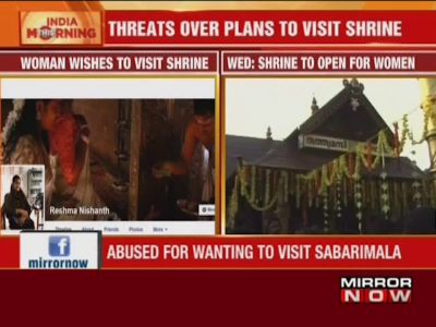 Woman slut shamed, abused online for planning to visit Sabarimala