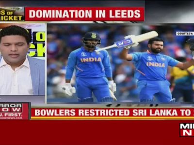 World Cup: India beat Sri Lanka by 7 wickets