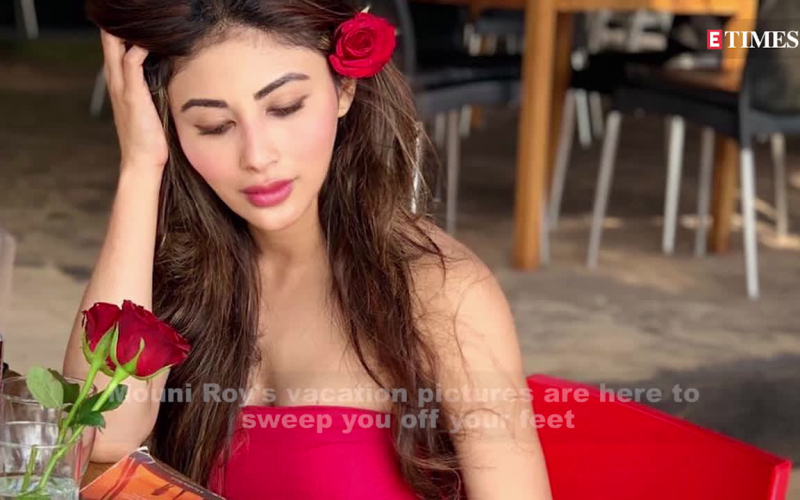 Mouni Roy's latest vacati