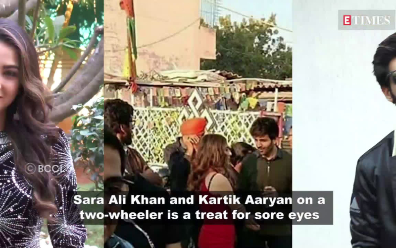 Sara Ali Khan enjoys the