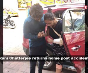 Bhojpuri actress Rani Chatterjee returns home after accident, wishes fans 'Happy Navratri'