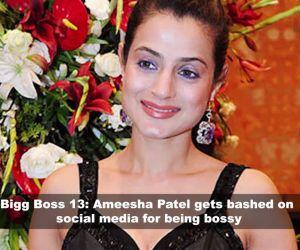 Bigg Boss 13: Ameesha Patel gets brutally trolled for her bossy 'Malkin avatar'