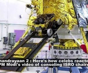 Chandrayaan 2: B-wood celebs react to PM Narendra Modi's video of consoling ISRO chairman; stunning looks of Mira Rajput, and more…