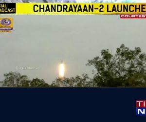 ISRO launches Chandrayaan